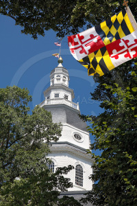 Maryland State House Dome