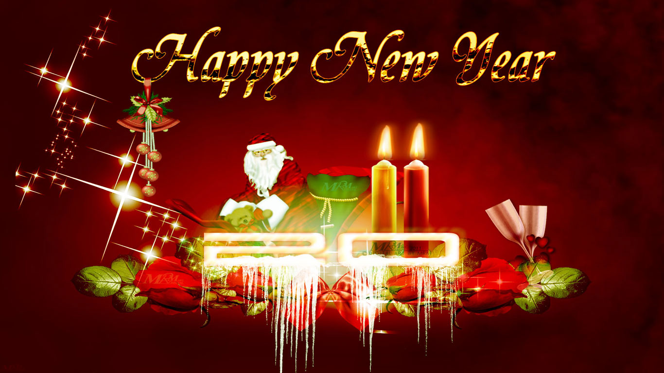 Happy new year for 2014 pgcps mess reform sasscer without delay happy new year with santa claus hd wallpaper m4hsunfo