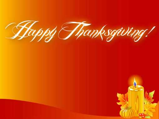 Happy-Thanksgiving-Candle-Wallpaper