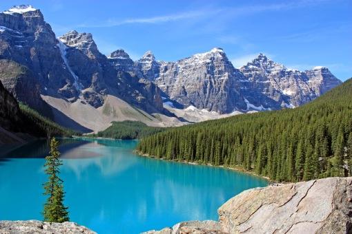 Moraine Lake; Banff Canada