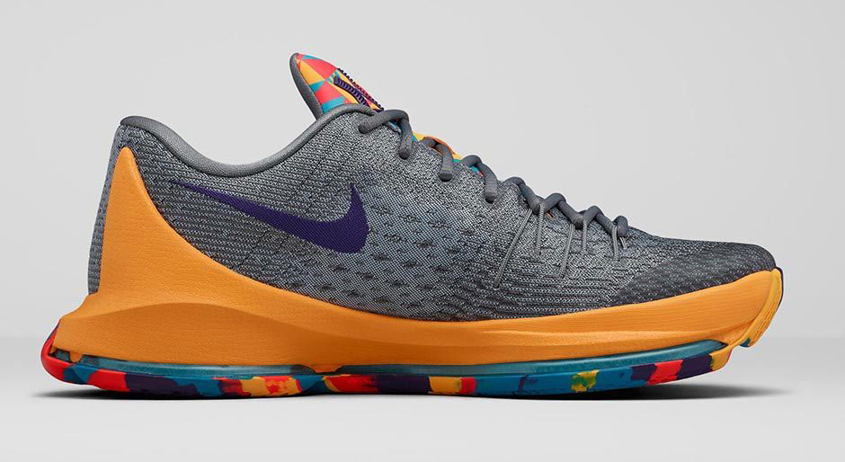 """quality design 4fb2f 0d010 The Nike KD 8 """"Prince George s"""" is a brand new Nike KD 8 colorway that pays  tribute to Kevin Durant s home county, Maryland."""