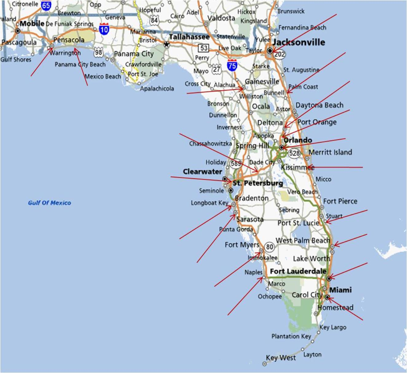 December  Pgcps Mess Reform Sasscer Without Delay Page - Map of florida beach towns